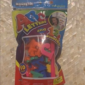 Magnetic ABC and Numbers for kids Brand New